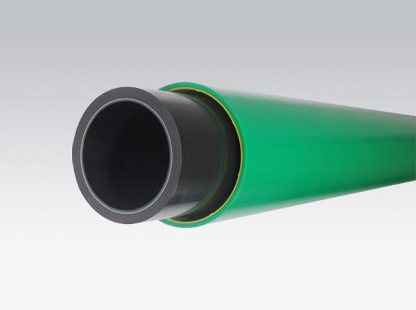 带防护层防渗导静电复合管道